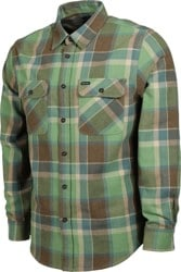 Brixton Bowery Flannel - toffee