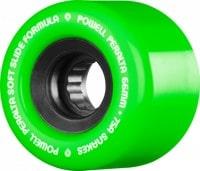 Powell Peralta Snakes Cruiser Skateboard Wheels - green v2 (75a)