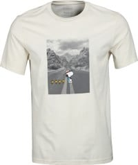 Element Peanuts Adventure T-Shirt - optic white