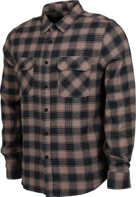 Brixton Bowery LW X Flannel Shirt - pine bark - view large