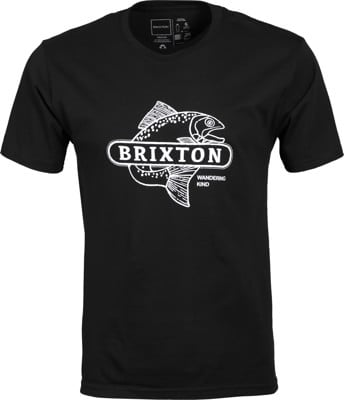 Brixton Mahlon X T-Shirt - black - view large
