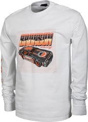 Bronson Speed Co. Ceramic Car L/S T-Shirt - white
