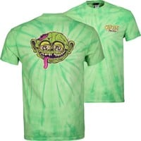 Creature Freaks T-Shirt - spider lime