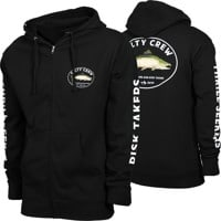 Salty Crew King Sal Zip Hoodie - black