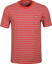 Baker Capital B Stripe T-Shirt - red