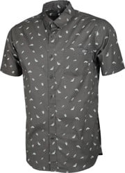 Salty Crew Bay Bass S/S Shirt - asphalt