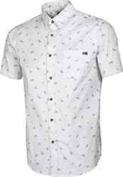 Salty Crew Bay Bass S/S Shirt - white