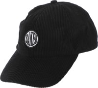 Baker Nautical Snapback Hat - black
