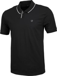 Brixton Proper Polo Shirt - black/white