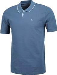 Brixton Proper Polo Shirt - joe blue pique