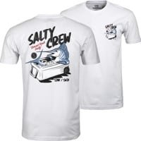 Salty Crew Chillin Premium T-Shirt - white