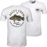 Salty Crew Baybass Premium T-Shirt - white