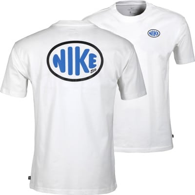 Nike SB Oval T-Shirt - white - view large