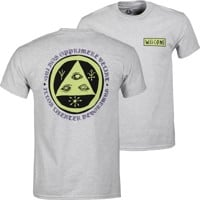Welcome Latin Talisman T-Shirt - ash/lime