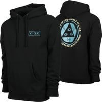 Welcome Latin Talisman Hoodie - black/deep teal