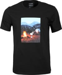 Element Peanuts Adventure T-Shirt - flint black