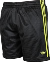 Adidas Athletic Shorts - black/acid yellow