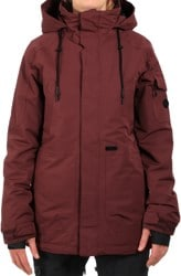 Volcom Shrine Insulated Jacket (2019 Closeout) - burnt red