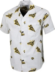 Obey Butterfly S/S Shirt - white multi
