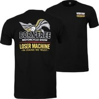 Loser Machine LMC X Born-Free Davis T-Shirt - black