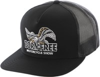 Loser Machine LMC X Born-Free Glory Trucker Hat - black