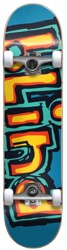 Blind Matte OG 7.75 Complete Skateboard - blue/yellow/red