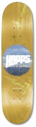 Hopps Sun Logo City 8.25 Skateboard Deck - yellow