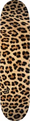 Mini Logo Fin, Fur & Feathers 8.25 243 Shape Skateboard Deck - leopard fur
