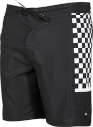 Vans Side Bar Boardshorts - black/white check