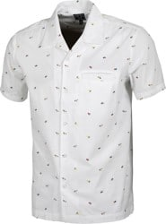 Dark Seas Wainscott S/S Shirt - white