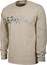 Frog Pat G Nightmare L/S T-Shirt - sand