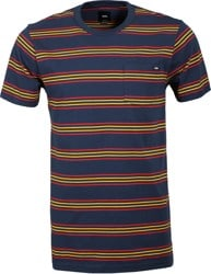 Vans Chaparral Sripe T-Shirt - dress blues