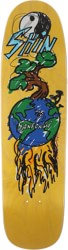 Polar Skate Co. Sanbongi Bonzai Ride 8.625 P9 Shape Skateboard Deck - yellow