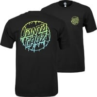 Santa Cruz Toxic Dot T-Shirt - black