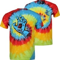 Santa Cruz Screaming Hand T-Shirt - pastel
