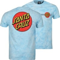 Santa Cruz Classic Dot T-Shirt - carolina blue crystal wash