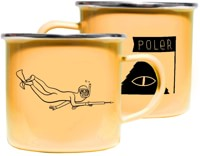 Poler Enamel Camp Mugs - (stevie gee) gold