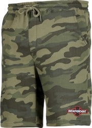 Independent O.G.B.C. Standard Fleece Shorts - forest camo
