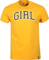 Girl Arch T-Shirt - gold
