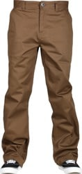 Volcom Frickin Skate Chino Pants - vintage brown