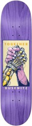 Real Busenitz Together 8.25 Skateboard Deck - purple