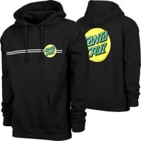 Santa Cruz Other Dot Hoodie - black/gold/green