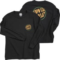Santa Cruz Kids Other Fisheye Dot L/S - black