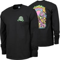 Santa Cruz Toxic Wasteland L/S T-Shirt - black
