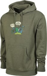 Toy Machine Slap Hoodie - army