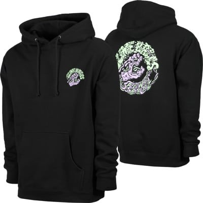 Santa Cruz Slime Balls Screaming Slime Hoodie - black - view large