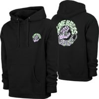 Santa Cruz Slime Balls Screaming Slime Hoodie - black