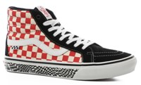 Vans Skate Sk8-Hi Reissue Shoes - (jeff grosso)'84 black/red check