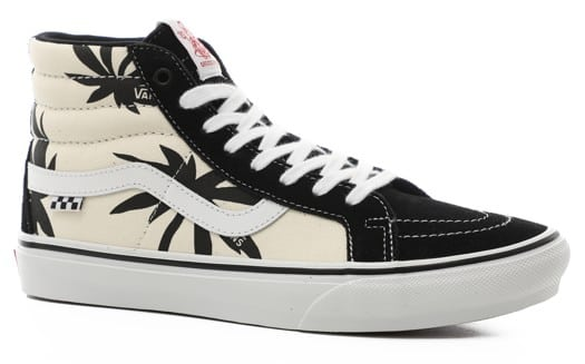 Vans Skate Sk8-Hi Reissue Shoes - (jeff grosso)'88 black/palms - view large