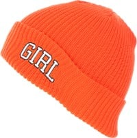 Girl Arch Beanie - orange